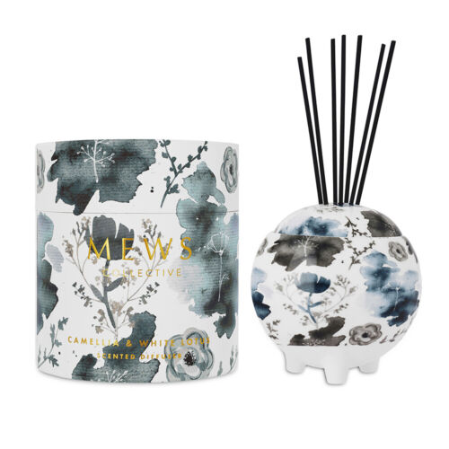 MEWS Collective Fragrance Diffuser Large 350mL Camellia & White Lotus