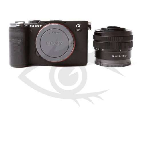 Authentique Sony Alpha a7C Mirrorless Digital Camera with 28-60mm Lens (Black)