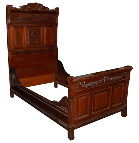 Victorian Bed, American #4558