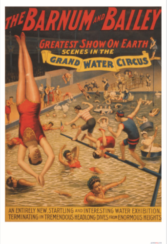 Barnum & Bailey Circus - Greatest Show On Earth - NEW Vintage Art Print POSTER