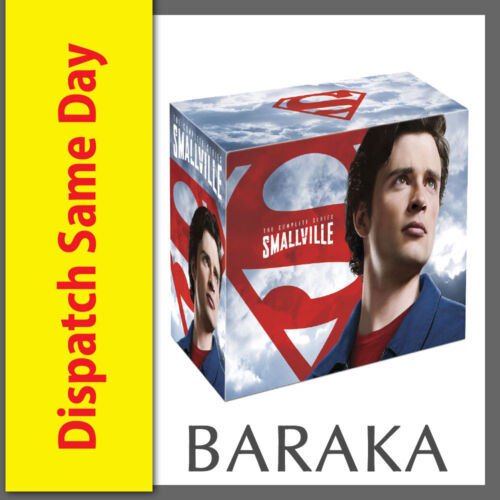 SMALLVILLE COMPLETE SERIES COLLECTION 1-10 BOX SET 60 DISCS