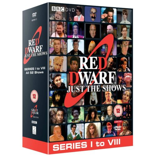 Red Dwarf Just The Shows Complete Series Seasons 1 - 8 DVD Box Set R4 Clearance