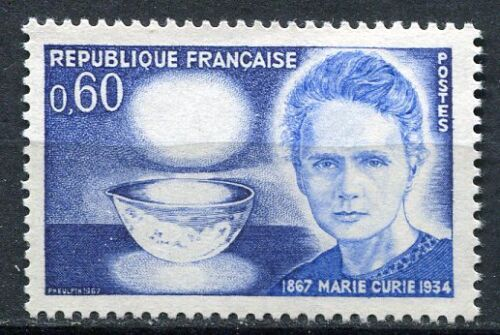 STAMP / TIMBRE FRANCE NEUF LUXE ** N° 1533 ** MARIE SKLODOWSKA CURIE