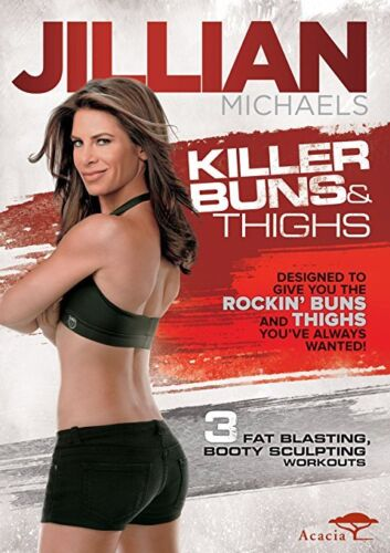 Jillian Michaels: Killer Buns and Thighs DVD (30 Day Shred) New & Sealed