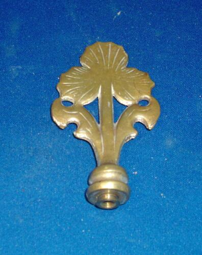 Antique Early 20th c. Aesthetic Movemet Mission Edwardian Lamp Finial Brass 1910