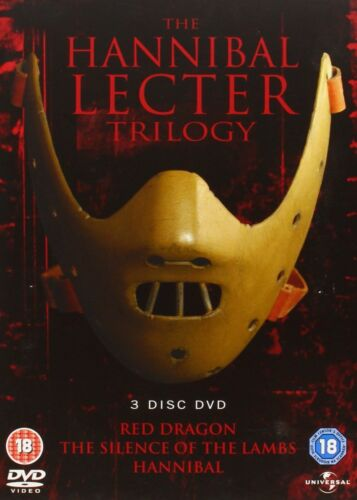 The Hannibal Lecter Trilogy DVD R4 Red Dragon, The Silence of the Lambs
