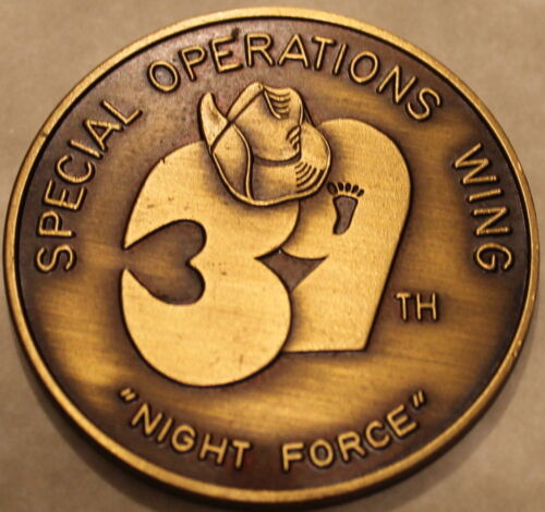 39th Special Operations Wing Air Force Jungle Jim Pararescue Challenge Coin / PJOriginal Period Items - 13983