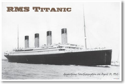 RMS Titanic - NEW Vintage Photograph POSTER