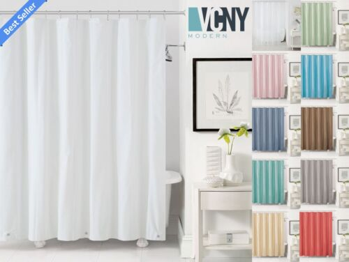 VCNY Peva Plastic Shower Curtain Liners With Magnets - Assorted Colors <br/> Back To School! Enjoy 10% Off When You Buy 3 Or More