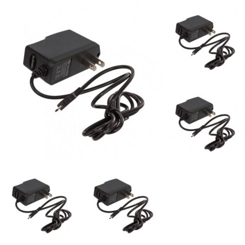 5X Micro USB Wall Home Travel Charger Accessory Black 1 Amp for Cell Phones <br/> UPGRADE TO EXPEDITED FOR 2 TO 4 BUSINESS DAY DELIVERY!!