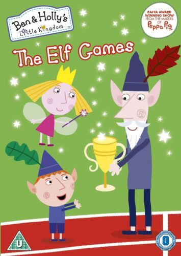 Ben and Holly's Little Kingdom the Elf School and other stories Volume 4 DVD R2