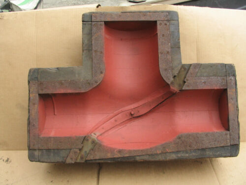 INDUSTRIAL WOOD FOUNDRY VALVE  MOLD PATTERN