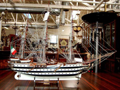 Beautiful 19th Century Ship Model of an Italian Gallion #5512