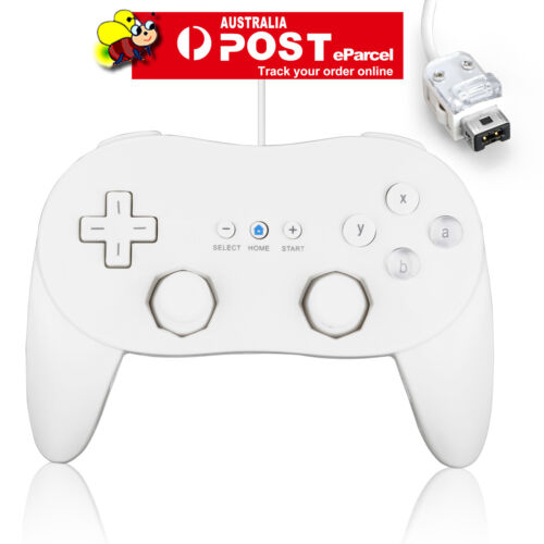 New White Classic Pro Wired GamePad Joypad Controller for Nintendo Wii Console