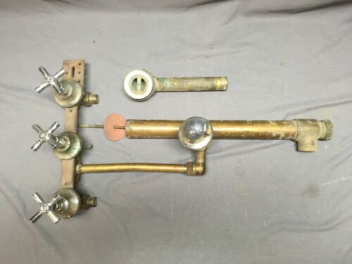 Antique Chrome Brass Bathtub Shower Faucet Plumbing 1290-13