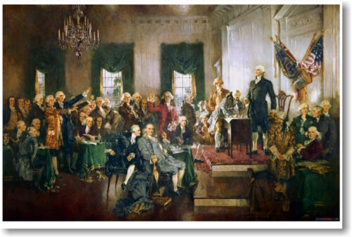 Howard Chandler Christy - Signing the Constitution - NEW Fine Art Print POSTER