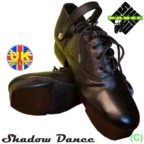 BRAND NEW! IRISH HEAVY SHOES JIG HARD DANCE DANCING GENUINE LEATHER (CC) <br/> IMPORTANT: PLEASE BUY ACCORDING TO OUR SIZE CHART