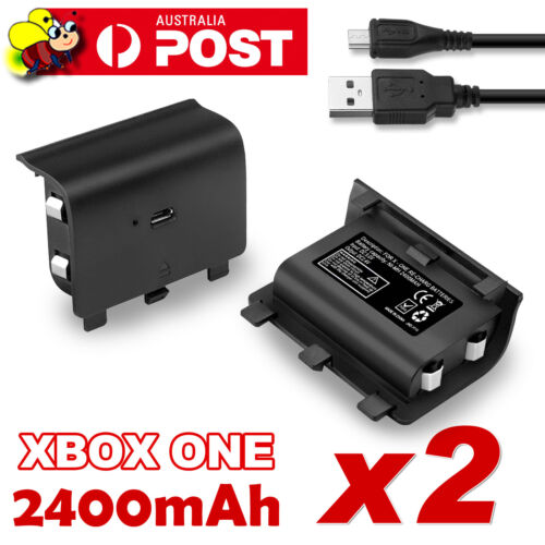For Xbox One Style Battery Pack Controller Rechargeable 2400mAh Rechargeable X2