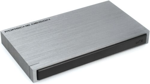 "Lacie 1TB Porsche Design P9220 2.5"" Portable drive USB 3.0 Powered 302000 PC/Mac"