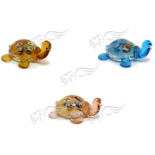 Turtle Sculpture Collection Murano Glass Made in Italy