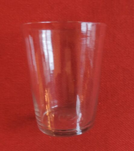 Antique American Flip Glass 18th 19th century Rough Pontil Whiskey 1800 Vase