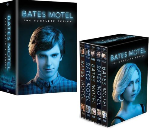 BATES MOTEL 1-5 (2013-2017) COMPLETE TV Horror Drama Seasons Series - NEW R1 DVD