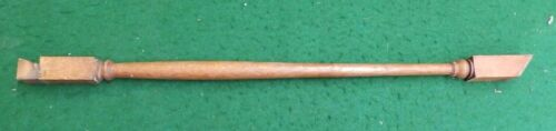 Antique Turned Wood Spindle Baluster Oak Staircase 4660-15