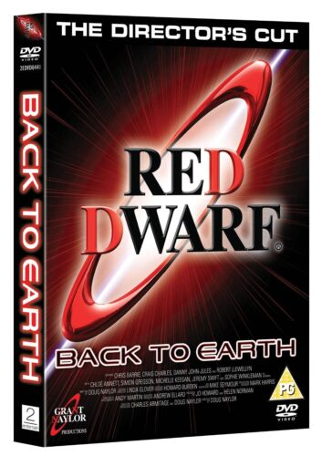 Red Dwarf  Series Season 9 DVD R4 Back To Earth New Sealed