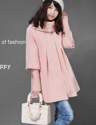 2017New fashion winter woolen thicken long sleeve coat jacket for pregnant wome
