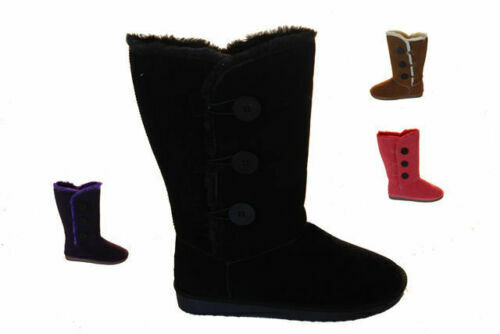 Ladies Winter Slipper Boots SOA S-XL Woolly New Pull On Boot New