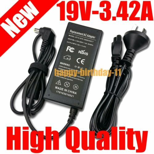 19V 3.42A Laptop Charger for Acer Aspire Notebook Chicony AC Adapter 5.5mm*1.7mm
