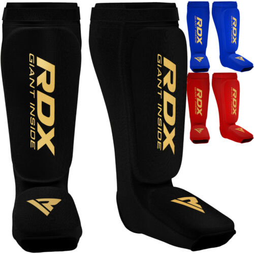 RDX Protège Tibia Boxe Pied MMA Cheville Entrainement Kick Boxing Karate Sport F