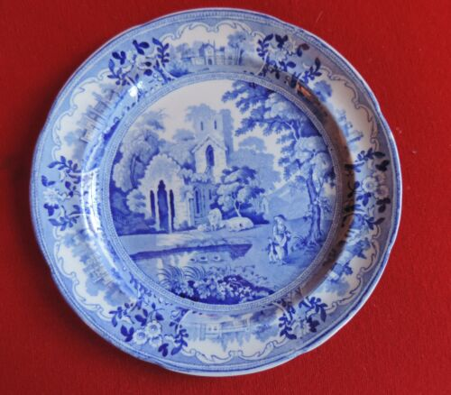 Staffordshire Plate Ridgway Historical Transferware Beauties of England & Wales