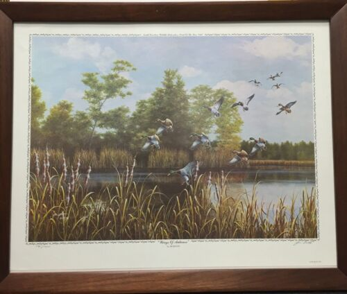 """Jim Booth """"Wings of Autumn"""" signed and numbered Limited Edition Framed"""