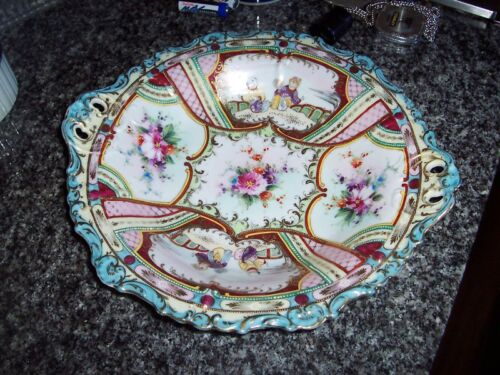 Gorgeous Asian Porcelain Handed Painted Plate/Bowl