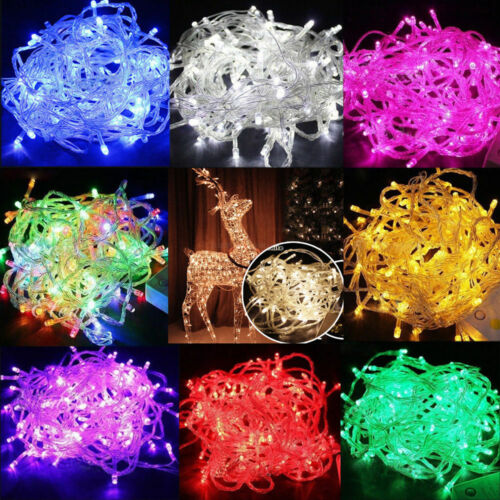 100 LED 10M Christmas Tree Fairy String Party Lights Xmax Waterproof Color Lamp <br/> BUY 1, GET 1 50% OFF - OVER 20,000 SOLD! - USA SELLER