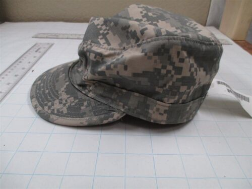 US Army Military Patrol Cap ACU Digital Camo Hat Size 7 3//8