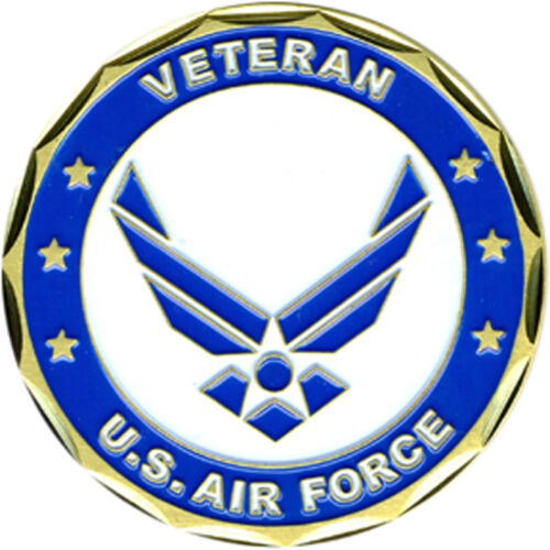 US Air Force Proud Veteran Challenge CoinOther Militaria - 135