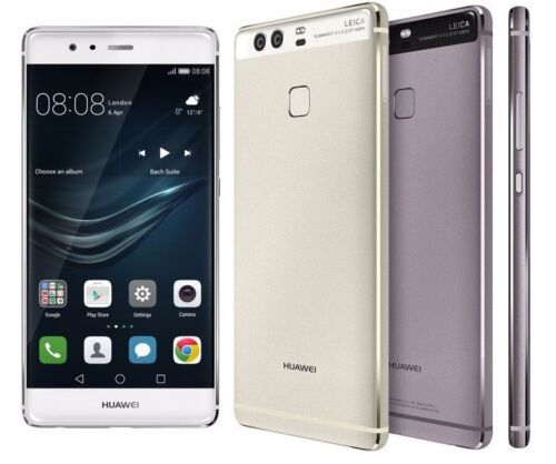 "Huawei P9 Dual EVA-L19 (FACTORY UNLOCKED) 5.2"" Full HD, 32GB - White/Grey/Gold"