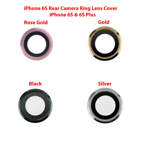 OEM Rear Back Camera Lens Glass Ring Cover Replacement for iPhone 6S and 6S Plus