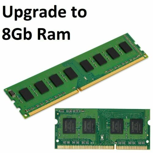Upgrade to 8Gb Ram In Desktop/ Laptop (4Gb Stick) <br/> 5% OFF with code *PATPAT* No Min Spend T&Cs apply.