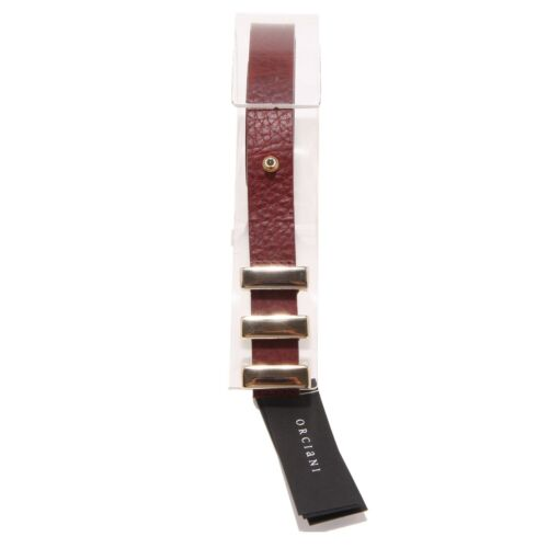 7755O cintura donna bordeaux ORCIANI accessori  belts women