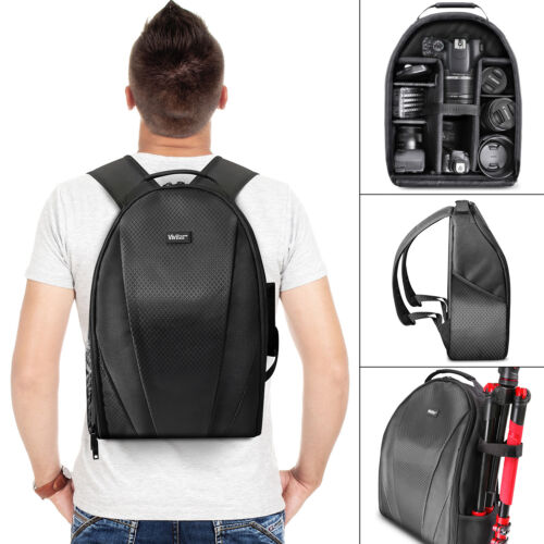 Vivitar Camera Backpack Bag for DSLR and Lens - Padded Case for Canon Nikon Sony <br/> Best Seller! / Free 2-4 Day Shipping / High Quality