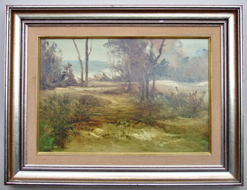 Norman Robins  Distant waters Framed Oil painting