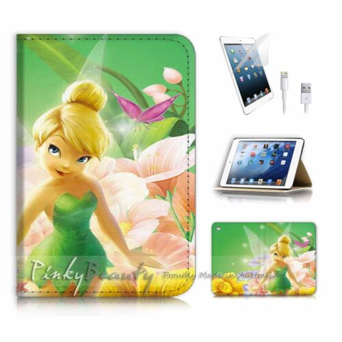 ( For iPad mini 4 ) Smart Cover & Base Case P3015 Tinkerbell
