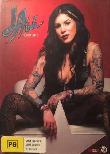 LA Ink: Collection 1 (DVD, 3 disc-set) brand new boxset free post!!