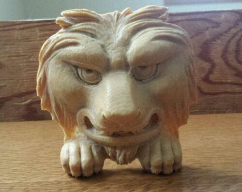 LARGE COMPOSITION/RESIN FURNITURE MOLD LION ~GREAT DETAIL!