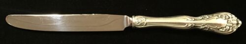 Sterling Silver Flatware - Alvin Chateau Rose Dinner Knife French