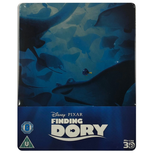 Finding Dory Steelbook - UK Exclusive Limited Edition 3D & 2D Blu-Ray