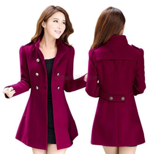 Fashion Women Winter Korean Long Parka Coat Jacket Windbreaker Slim Outwear Warm